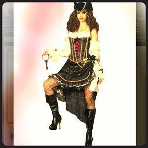 Leg Avenue Deluxe Pirate Swashbuckler Costume 💀